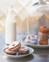 cake donuts breakfast