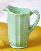 jadeite mint green pitcher