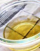 oil in bowl