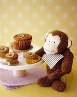 muffins monkey stuffed annimal