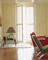 Mopping the basics everyone should know martha stewart for Should plantation shutters match trim
