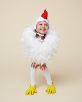 chicken halloween costume girl