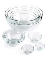 macys glass nesting mixing bowls