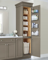 home depot bathroom cabinet linen storage