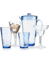 acrylic drinkware blue