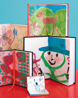 kids drawings cards books