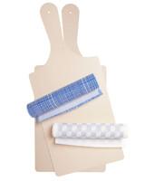 cheese board cotton napkins