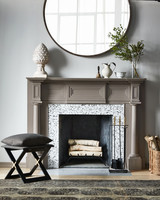 fireplace mirror