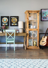 kelsea ballerini living room office record wall