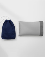 nap pillow and bag