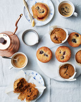 sweet muffins table