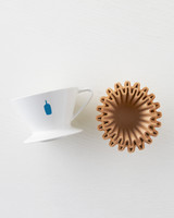 Blue Bottle coffee dripper and filters
