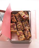 fruitcake bars