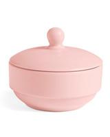pink sugar bowl