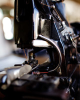 raleigh denim shop sewing machine