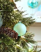 sea glass ornament