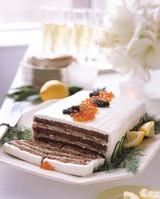 smoked salmon cake