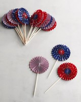 Patriotic Pinwheel Picks