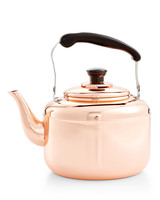 martha's macy's copper teapot