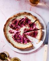 sweet radish tart