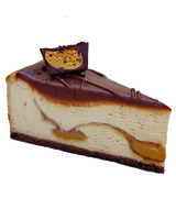 Eli's and Wild Ophelia's holiday collaboration chocolate banana cheesecake