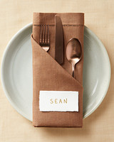 napkin fold pocket