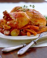 完美的烤鸡