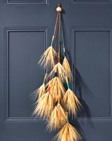 Wheat Door Decor 037 D111372