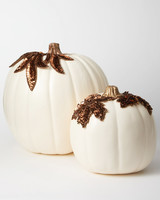 applique pumpkins bronze