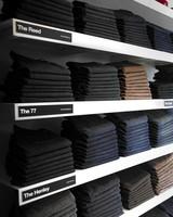 baldwin denim wall of jeans