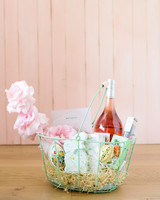 green wire easter basket