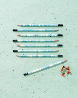Marbelized Pencils