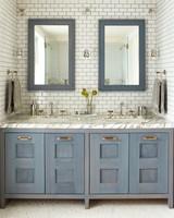tile bathroom vanity