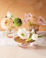 brass flower vase lid
