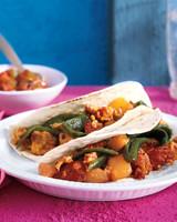chorizo potato taco
