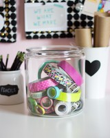 Clear Storage Jars