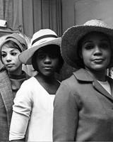 women wearing easter bonnets