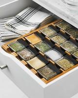 macys cube spice rack