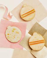 ornament cookies