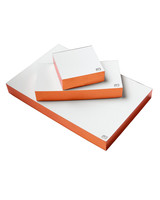 copper edged memo pads