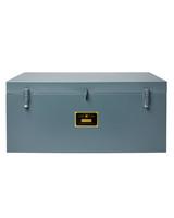blue metal foot locker best made organization