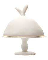 bunny dome cake stand