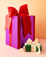 jumbo gifts wrapping with ribbon and bows