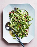 pea and asparagus salad