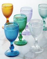 Vista Alegre Bicos Water Goblets