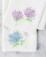 floral tea towels