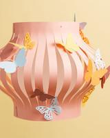 cricut colorful butterfly lantern paper