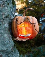 fairy house halloween pumpkin