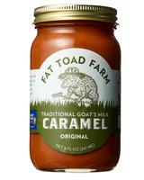 jarred fat toad farm goats milk caramel