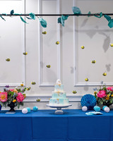 mangiolino cake and table